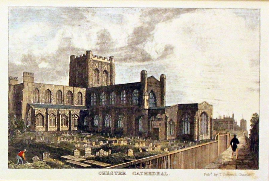 Англия Честерский собор