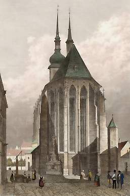 Чехия-Моравия Брно Св Яков