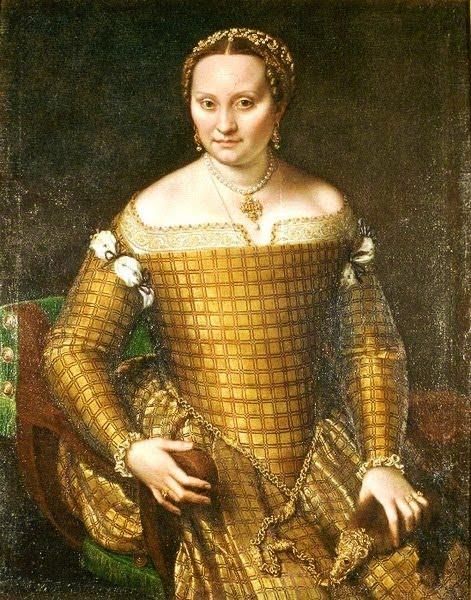 Софонисба Ангиссола  Портрет матери Бьянки Понзони 1557