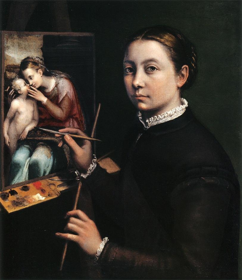 Софонисба Ангиссола Автопортрет 1556