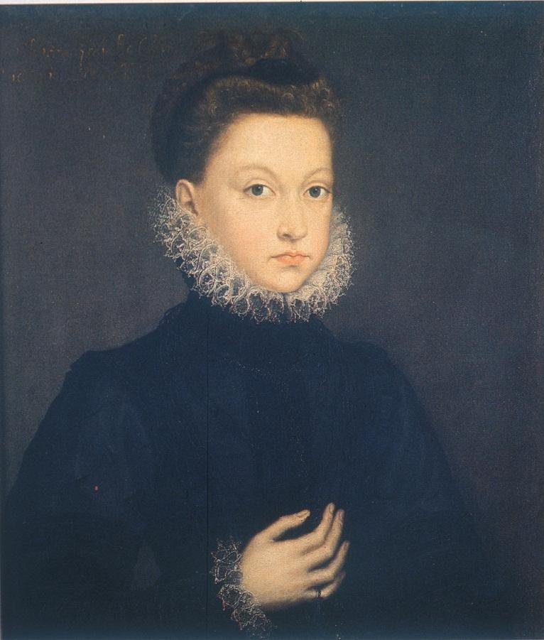 Софонисба Ангиссола Инфанта Изабелла Клара Евгения 1573
