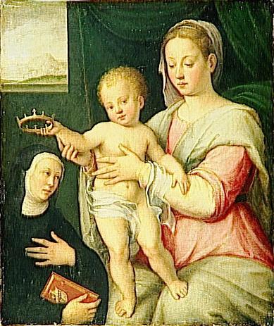 Барбара Лонги Мадонна с Младенцем