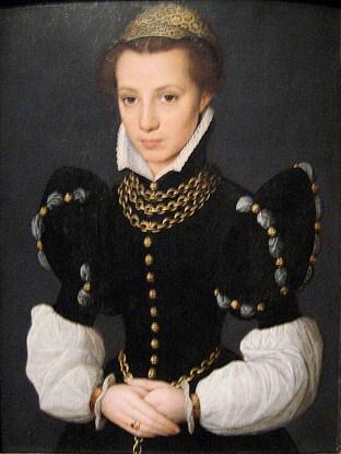 Катарина ван Хемессен Портрет Дамы2