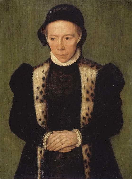 Катарина ван Хемессен Портрет женщины