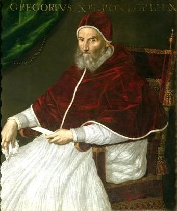 Лавиния Фонтана Портрет Папы Григория 13