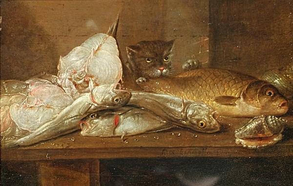 Адриансен Александр Still Life with Fish