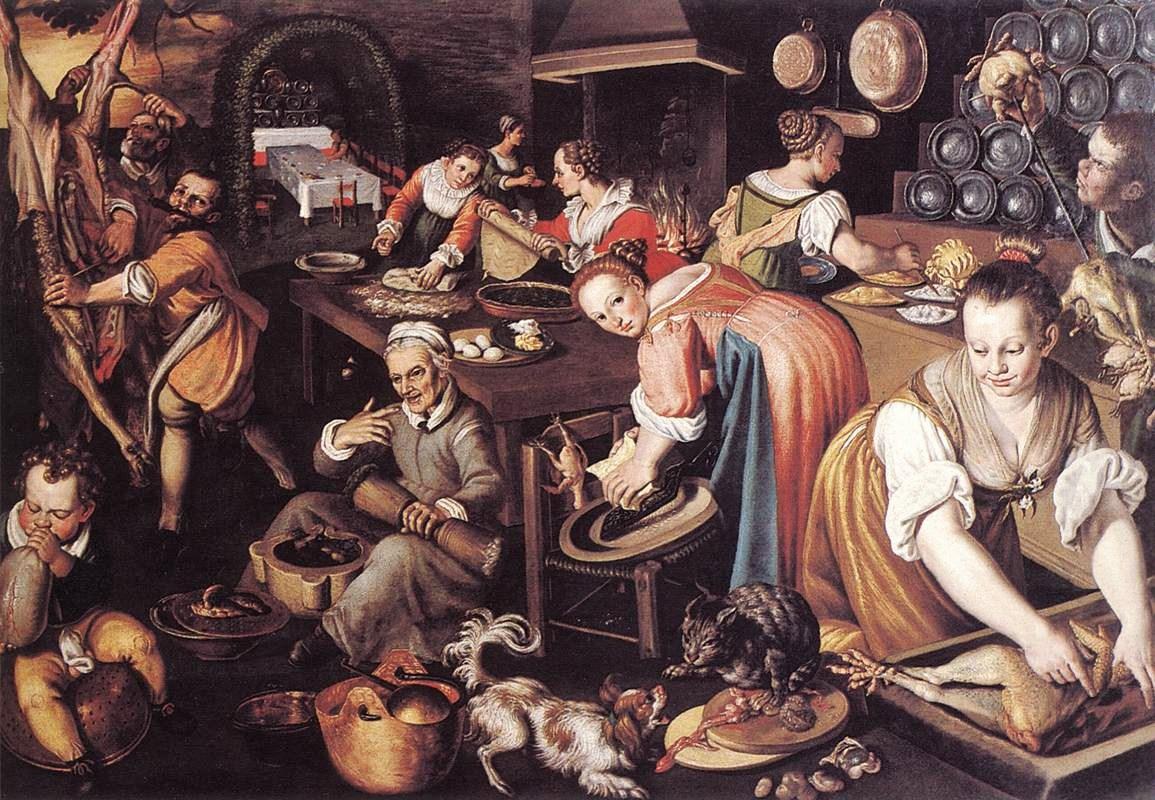 Винченцо Кампи1536 – 1591) Kitchen