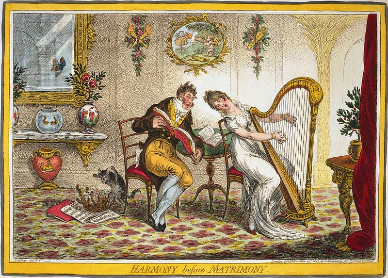 Джеймс Гиллери 1805