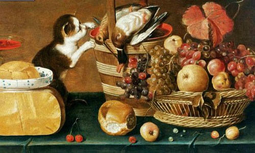 Неизв The Cat's Meal. 1625-50