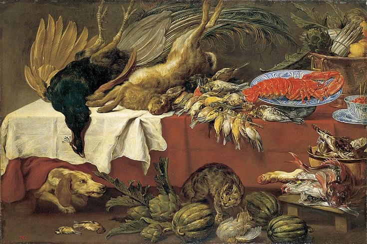 Пауль де Вос 1640-60