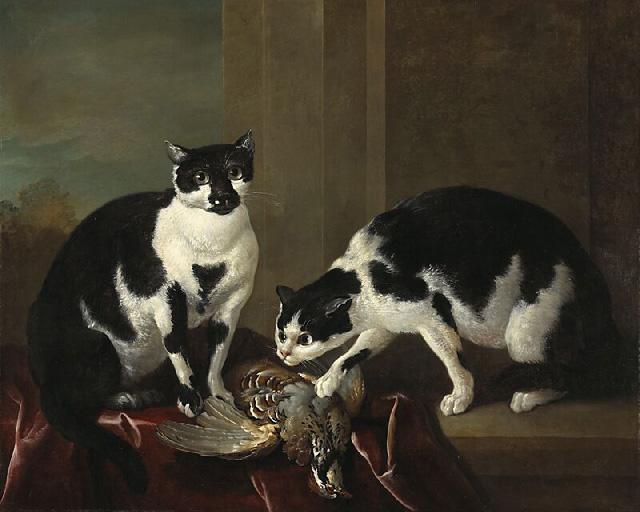 Ян Баптист Одри_Two_Cats