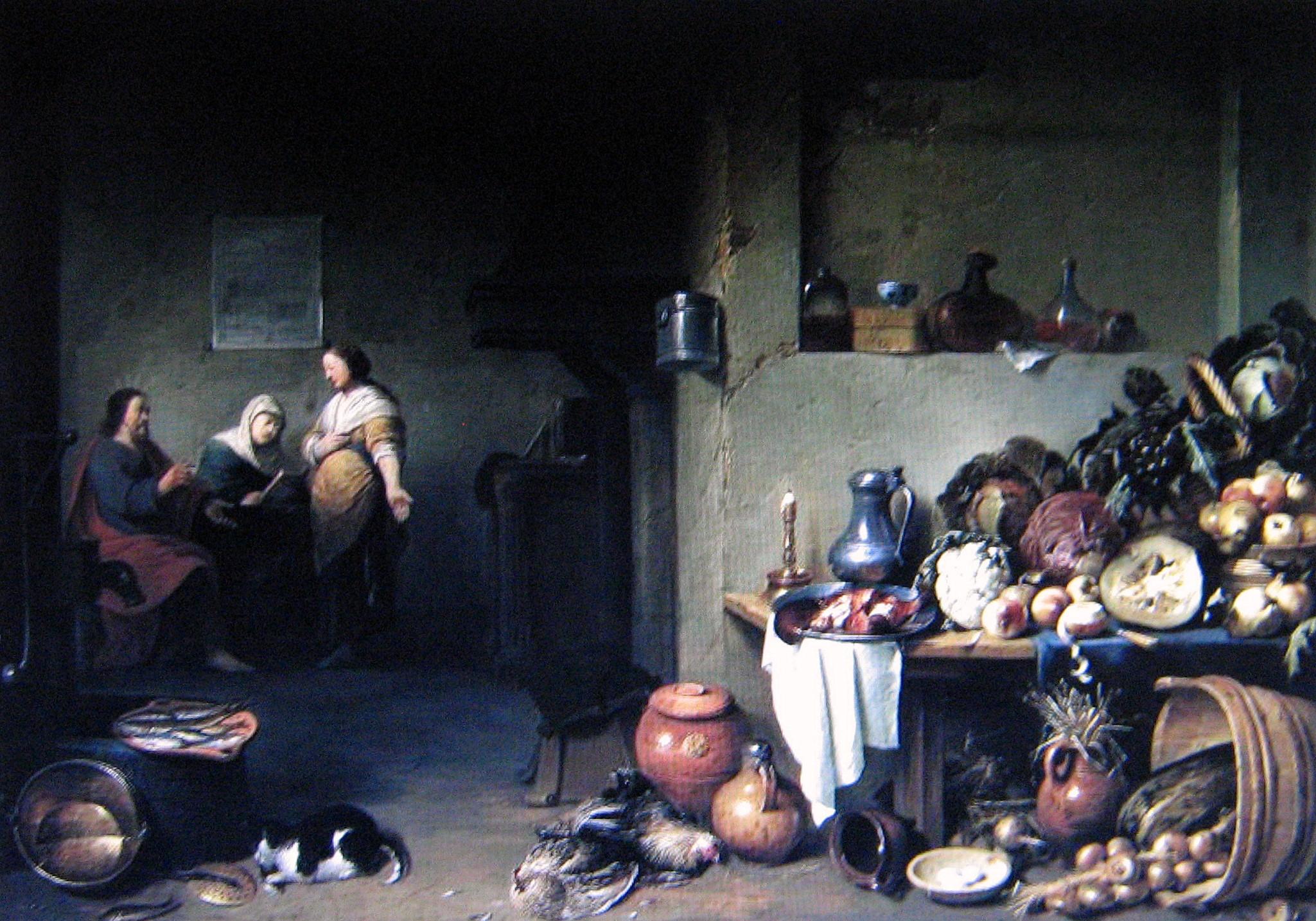 Bloot,_Pieter_de_-_Christus_bei_Maria_und_Martha,_1637