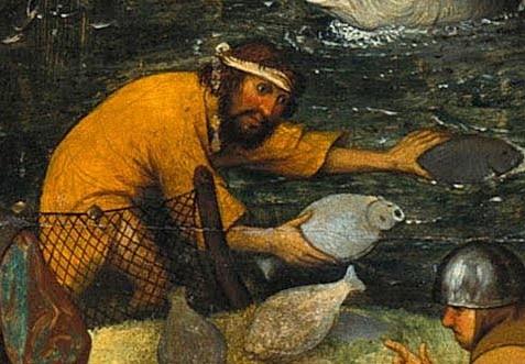 37. Ловить рыбу без невода