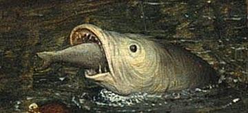 50. Большая рыба есть малую