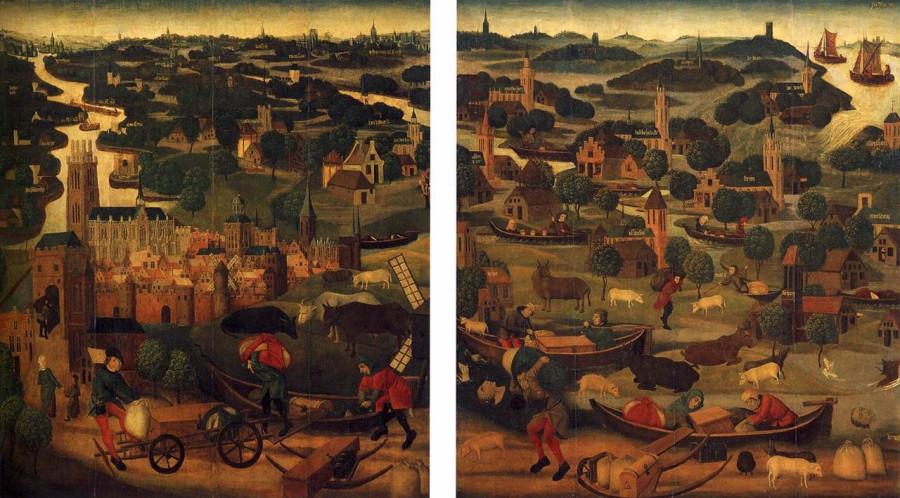 02 Наводнение св. Елизаветы 1421 Виллем ван Кемпен