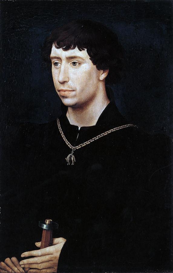 5 Карл Смелый Бургундский Рогир ван дер Вейден 1460