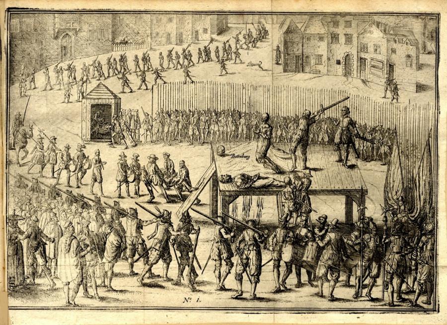 15 Казнь братьев Бронкхорст ван Батенбург