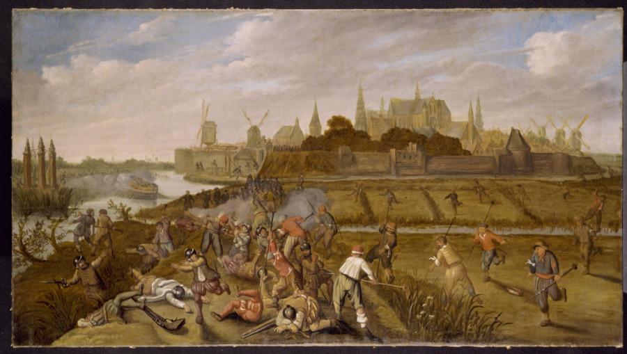 20 неизв 17 век Разрушение Лейденской дамбы и затопление польдеров