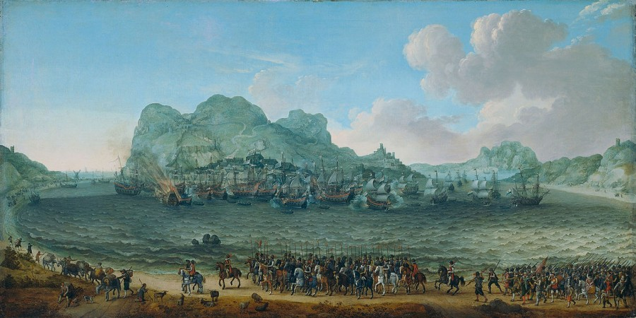 21 я Битва при Гибрлтаре Якоб ван Херскерк