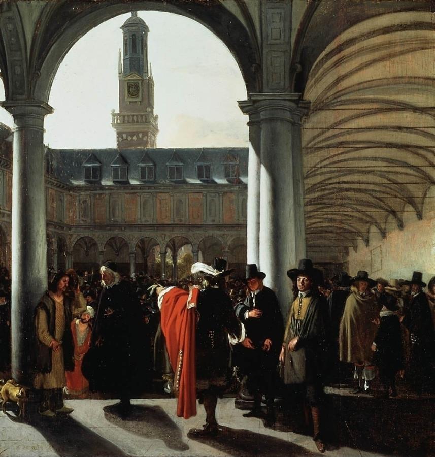 25 Emanuel_de_Witte_Амстердамская фондовая биржа 1653