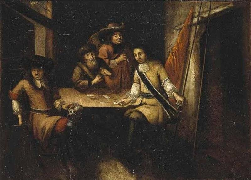 27 Петр Первый в Голландии кон 17 века, неизв голл