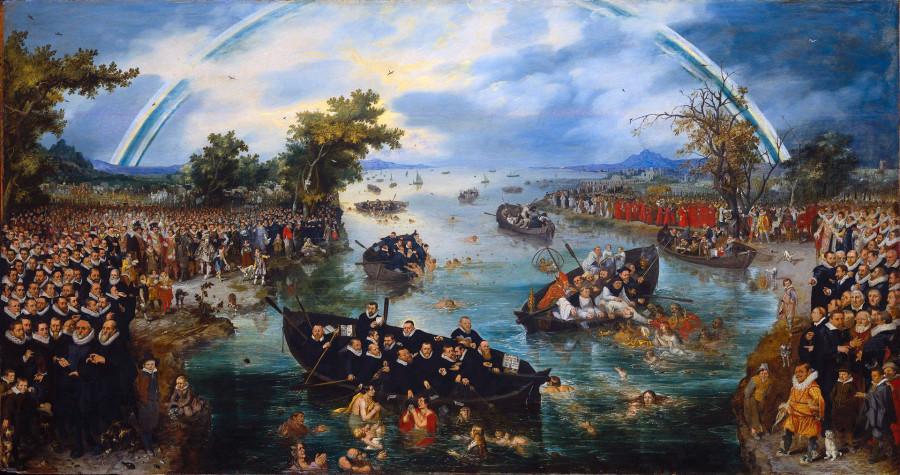 20 в Ловцы душ 1614(Adriaen_Pietersz._van_de_Venne)