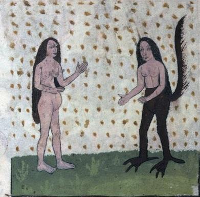 2 Лилит искушает Еву Бельгия 14 век