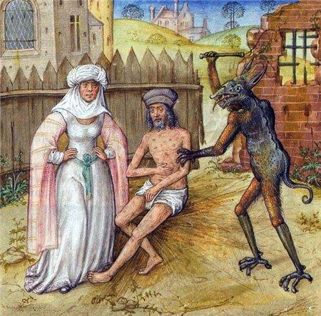 10 Иов и сатана 15 век