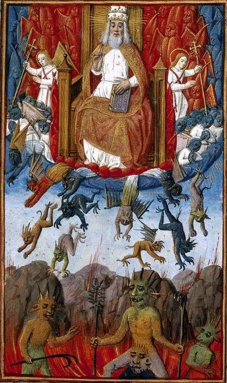 12 Низвержение Библия, Франция 15 век
