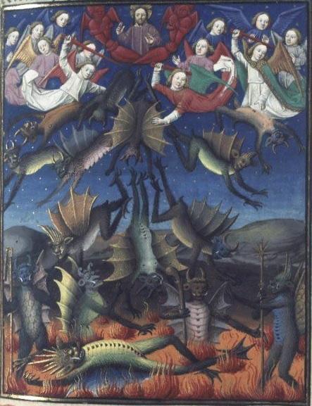 12 Низвержение Винсент Бове Париж 1463