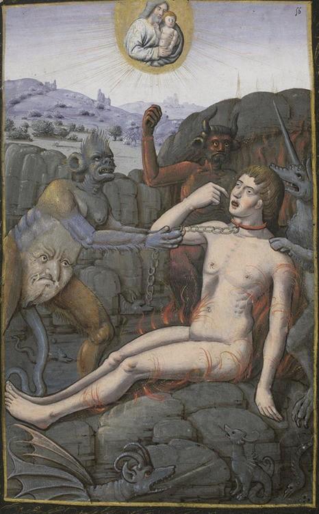 14 Лазарь и богач Часослов из Рима 16 век