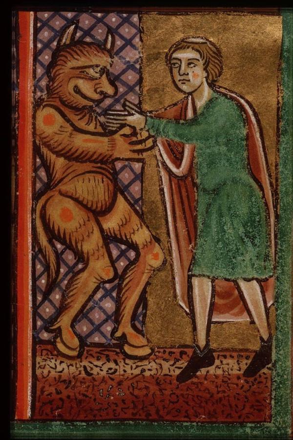 15 Феофил продает душу дьяволу