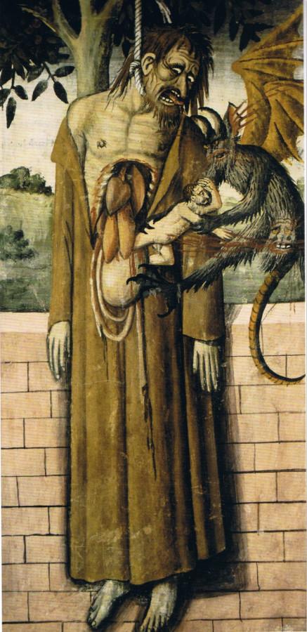 15 Самоубийство Иуды Джованни Канавезио 1493