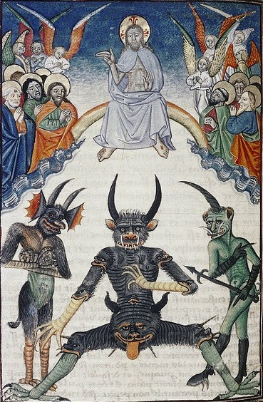 Сатана готовящийся к Страшному суду