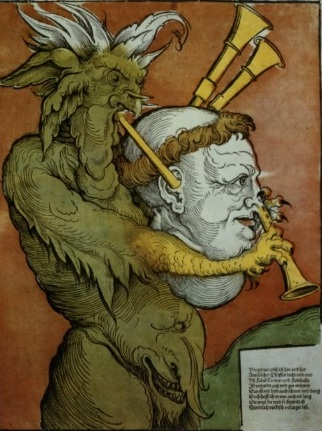 17 Дьявол играет на Мартине Лютере как на волынке 16 век