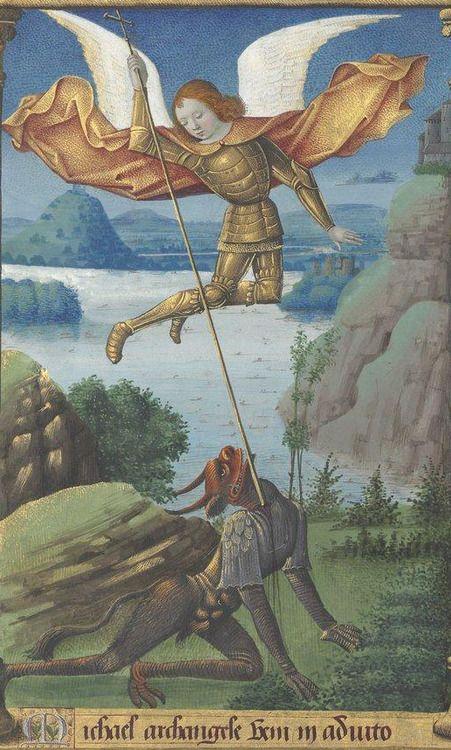 св. Михаил Франция 15 век