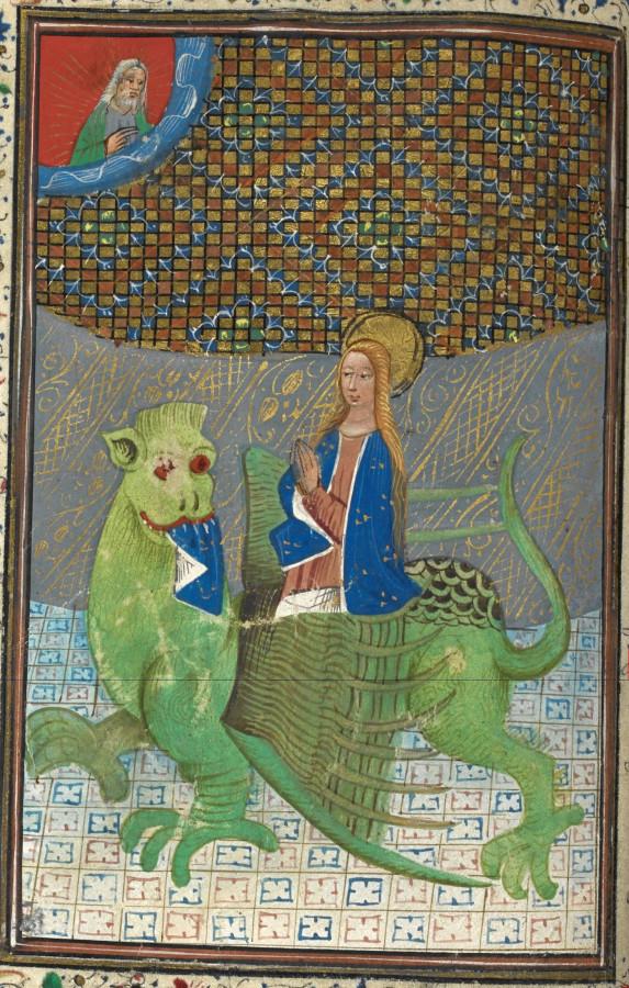 Св. Маргарита на драконе