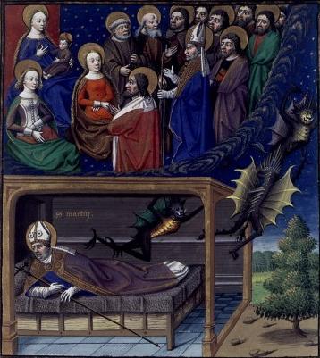 Св. Мартин изгоняющий дьявола