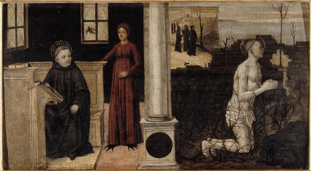 Св. Бенедикт искушение