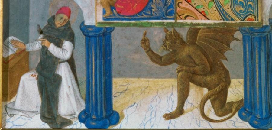 Св. Бернерд соблазняемый Сатаной