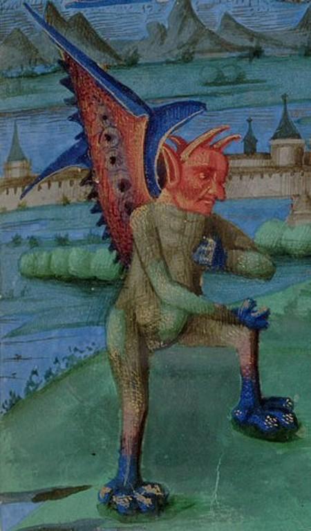 Демон, искушающий святого Иоанна 1410-е