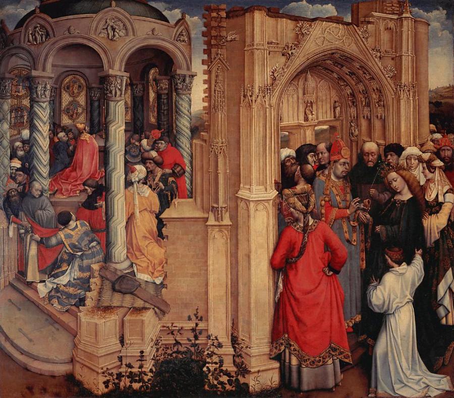 1420 Robert_Campin Обручение Марии