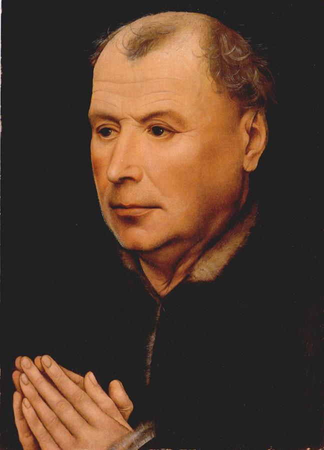 Портрет молящегося мужчины Мастерская Кампена 1430-35_ca. (1)