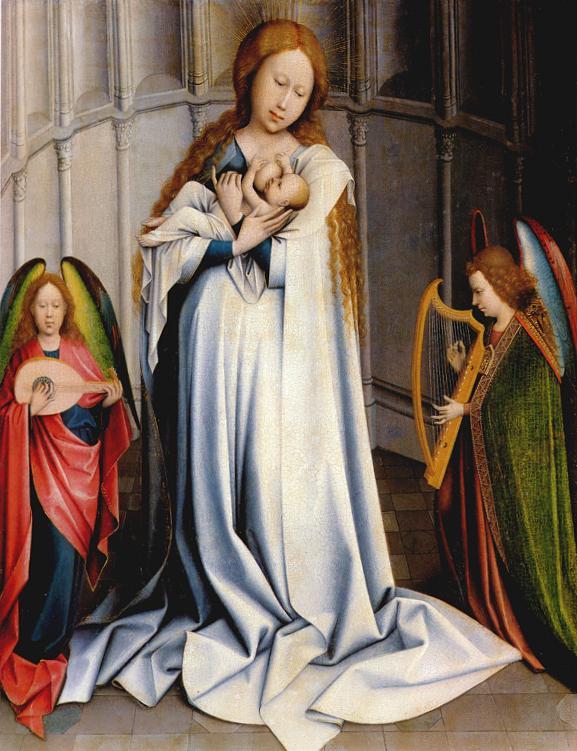 1480 копия Мадонна с Младенцем