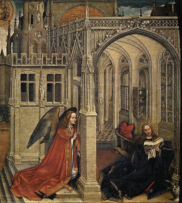 1430 Жак Даре-Кампен  Благовещение2