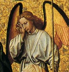 1415-1420 Положение во гроб ПЛАЧУЩИЙ АНГЕЛ