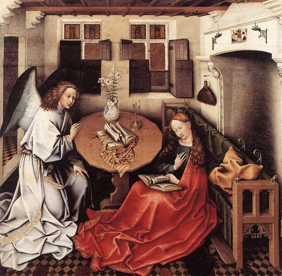 1425-30 Брюссельский алтарь
