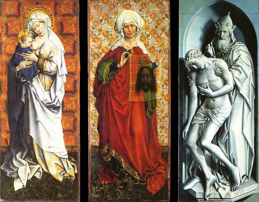 1430-34 Флемальский алтарь