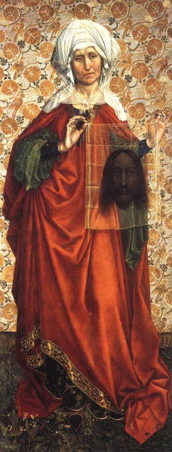 1425 Флемальский алтарь святая Вероника
