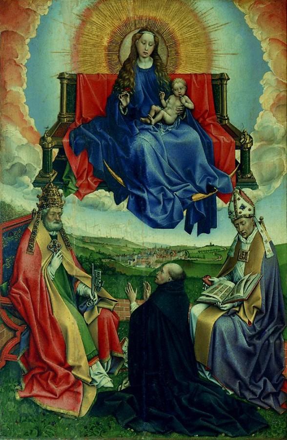 1430 Мадонна на троне со святыми